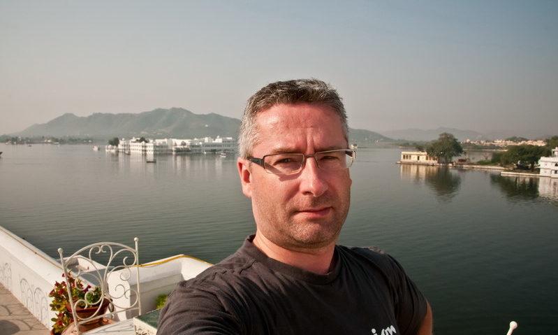 Christophe en Inde