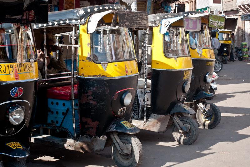 Rickshaw indien 01