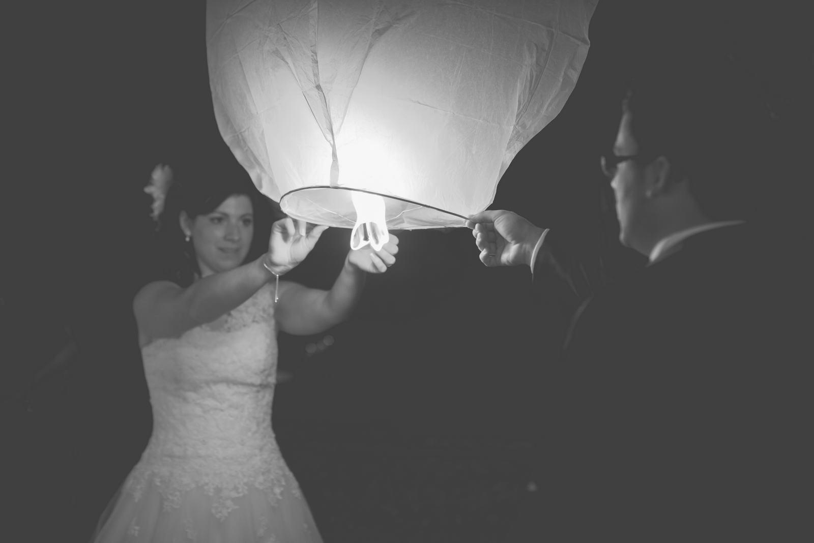 Lâcher lanternes