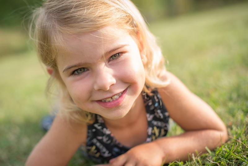 Un beau portrait d'enfant 01