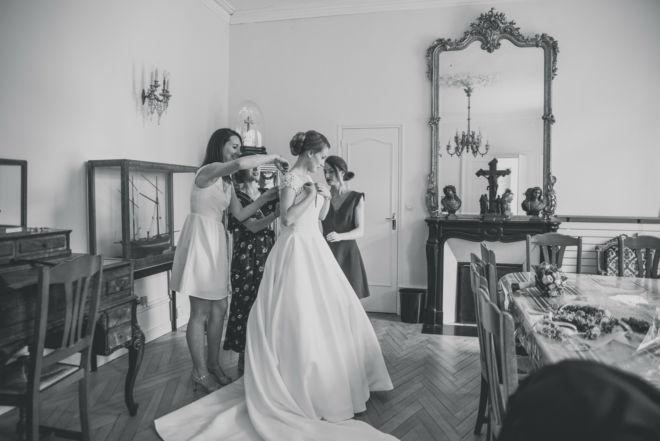 Mariage - Chateau du taillis - Demoiselle d'honneur