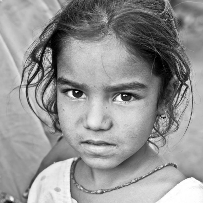 Road Trip en Inde - noir et blanc