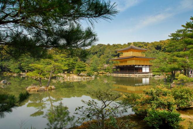Kyoto - Le pavillon d'or