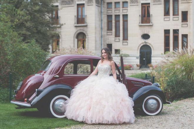 Mariage au château de hendecourt les cagnicourt - robe de mariée