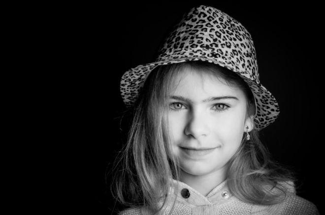 Portrait N&B Enfant Béthune