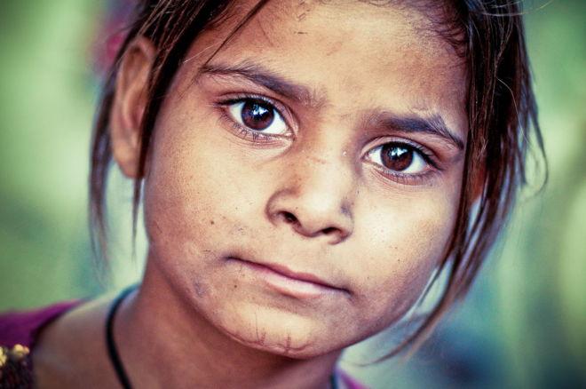 jeune fille indienne