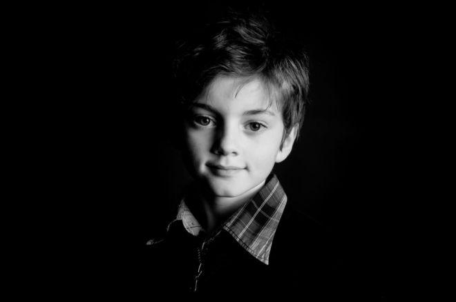 portrait noir et blanc de vos enfants - Robecq
