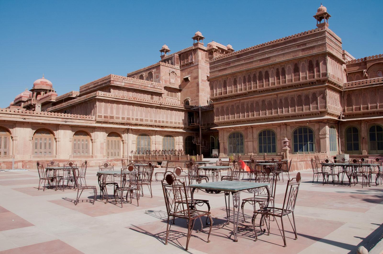 Bikaner - Lalgarh Palace - hébergement de charme