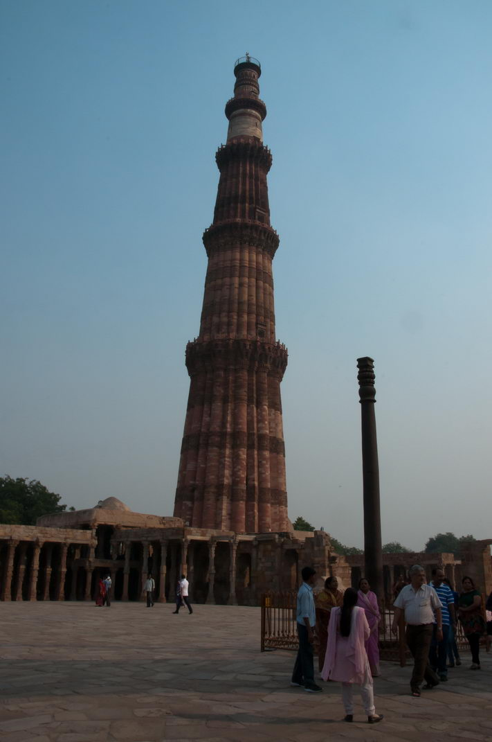 Qutb Minar Colonne de fer