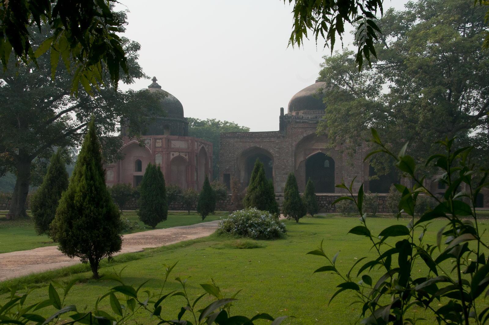 Tombeau de Humayun - les jardins