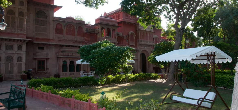 Le Gajner Palace - Hébergement de charme à Bikaner