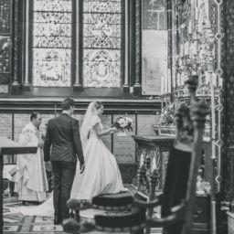 Mariage - bouquet à la vierge