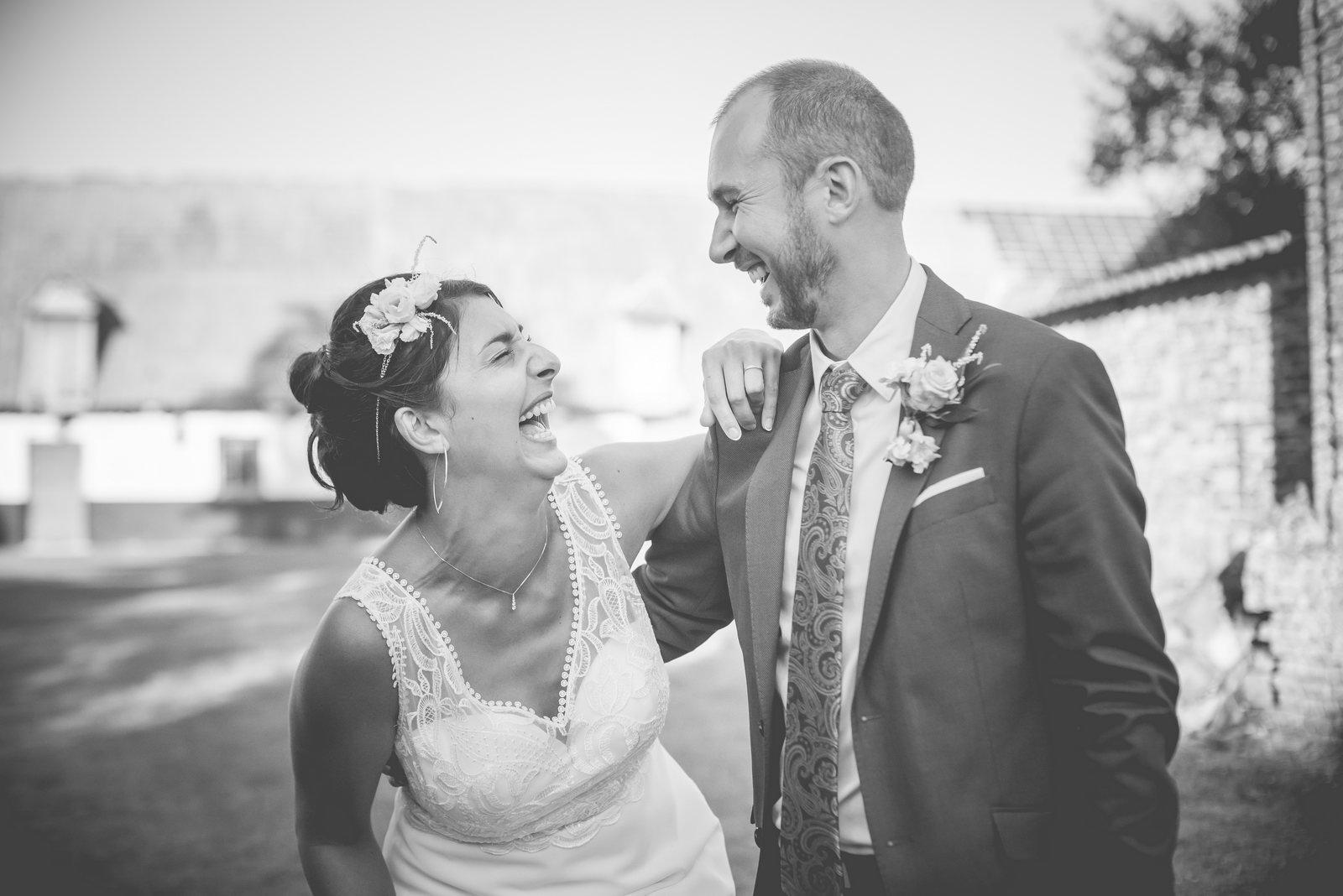 Mariage à l'abbaye de Clairmarais - photographe mariage